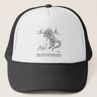 Extinction Cartoon 1750 Trucker Hat