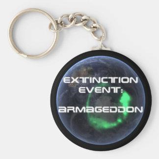 Extinction Event: Armageddon Keychain