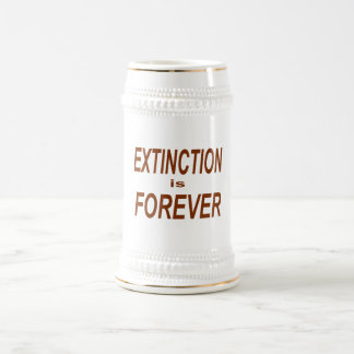 Extinction is Forever Beer Stein
