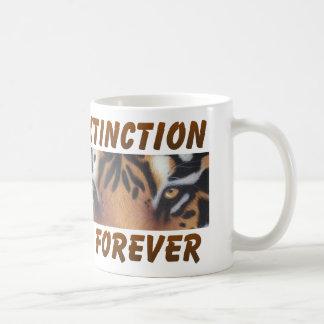 Extinction is forever coffee mug