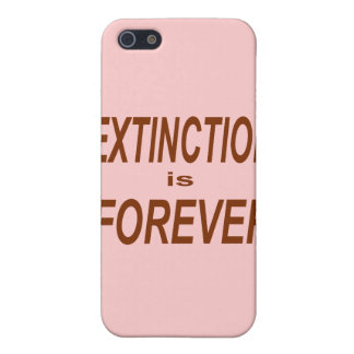 Extinction is Forever Cover For iPhone SE/5/5s