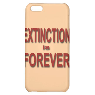 Extinction is Forever iPhone 5C Covers