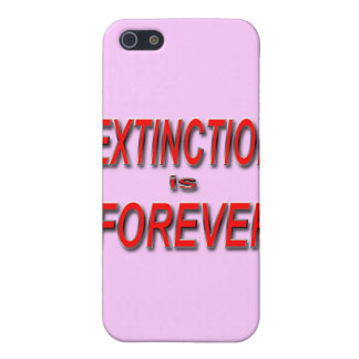 Extinction is Forever iPhone 5 Case