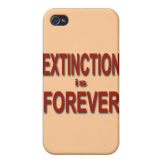 Extinction is Forever Cases For iPhone 4
