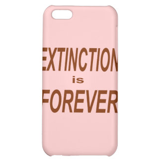 Extinction is Forever Cover For iPhone 5C