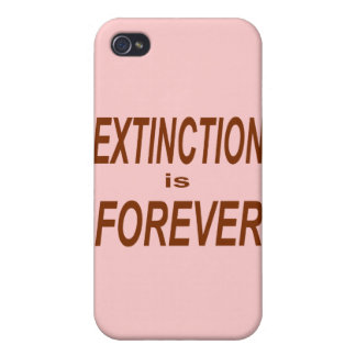 Extinction is Forever Case For iPhone 4