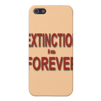 Extinction is Forever iPhone 5 Covers