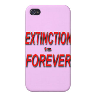 Extinction is Forever iPhone 4 Cases