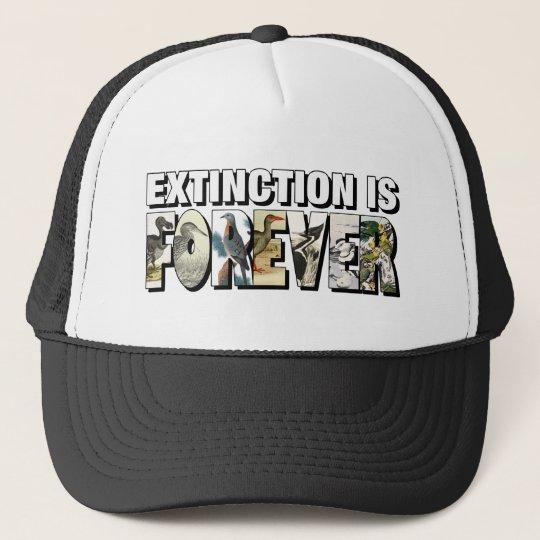 Extinction Is Forever Trucker Hat