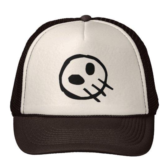 Extinction Logo Skull-Top Trucker Hat