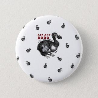 Extinction Sucks Dodo Bird Design #2 Button