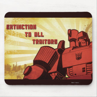 Extinction To All Traitors Mouse Pad