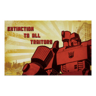Extinction To All Traitors Poster