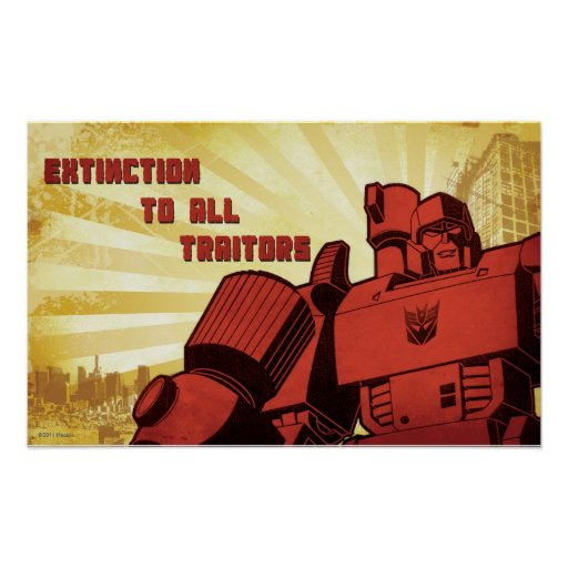 Extinction To All Traitors Posters