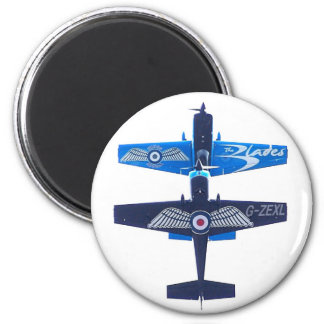 Extra 300 LP of the Blades Display Team 2 Inch Round Magnet