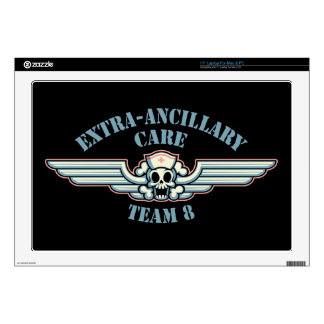 """Extra-Ancillary Care Team 8 Skin For 17"""" Laptop"""