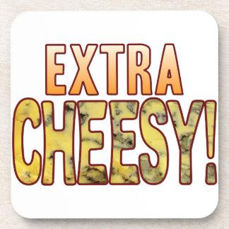 Extra Blue Cheesy Beverage Coaster