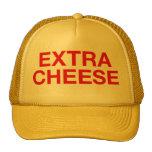 EXTRA CHEESE fun slogan trucker hat