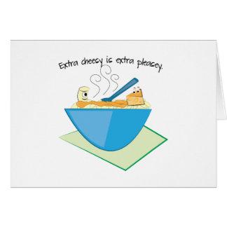 Extra Cheesy Extra Pleasey Greeting Cards