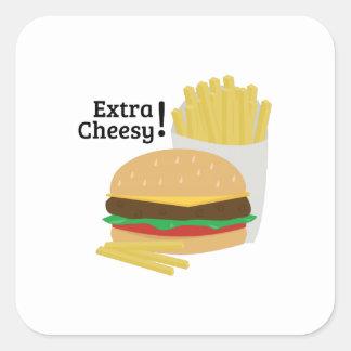 Extra Cheesy! Sticker