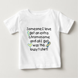 extra chromosome baby T-Shirt