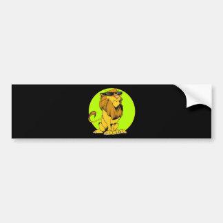 Extra Cranky Lion Bumper Sticker
