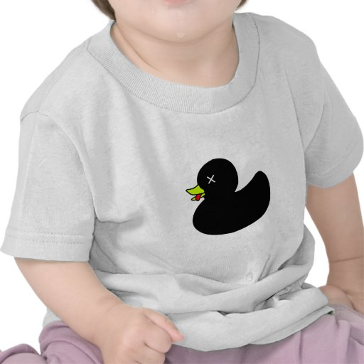 Extra Dead Rubber Duck with Tongue Hanging Out Tee Shirt