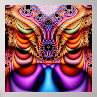Extra-dimensional Undulations V 1  Art Print