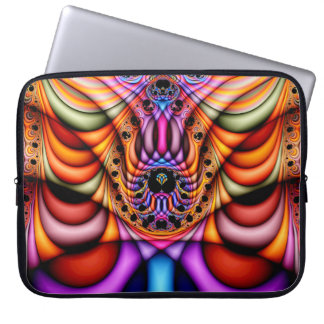Extra-dimensional Undulations V 1  Laptop Sleeve