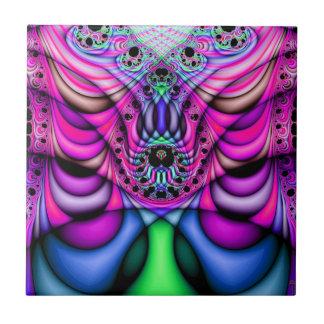 Extra-dimensional Undulations V 2  Ceramic Tile