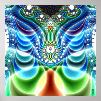 Extra-dimensional Undulations V 3  Art Print