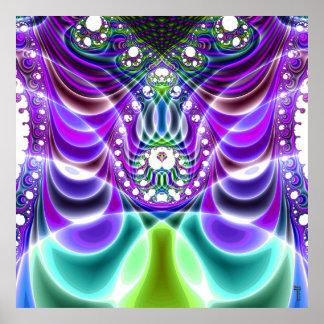 Extra-dimensional Undulations V 4  Art Print