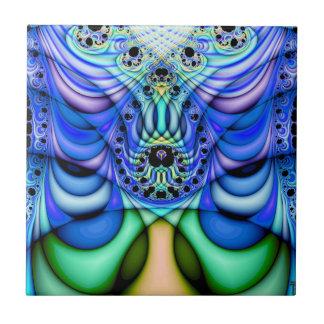 Extra-dimensional Undulations V 5  Ceramic Tile
