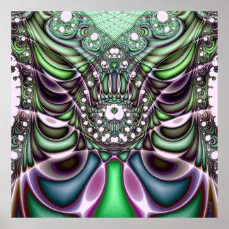 Extra-dimensional Undulations V 7  Art Print