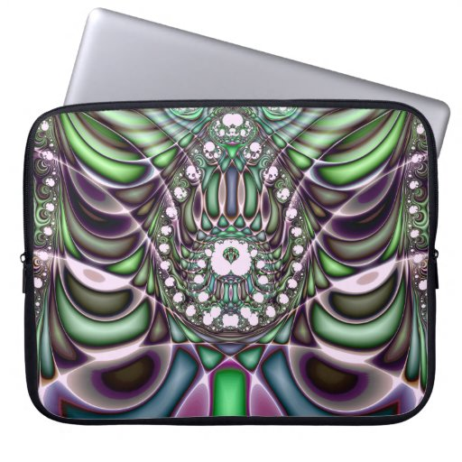 Extra-dimensional Undulations V 7  Laptop Sleeve