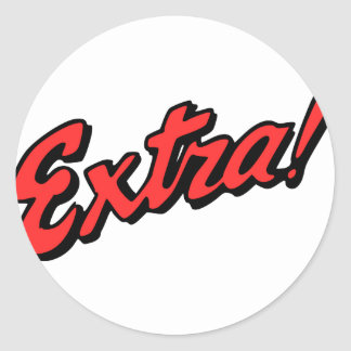 Extra! Exclusive Stickers