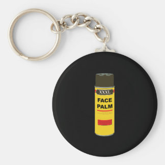 Extra Extra Extra Large can of FACE PALM Keychain