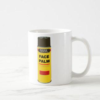 Extra Extra Extra Large can of FACE PALM Mug