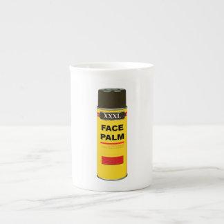 Extra Extra Extra Large can of FACE PALM Bone China Mugs