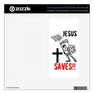 Extra, extra! Jesus Saves!! (Samsung Galaxy S2) Samsung Galaxy S II Decal