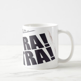 EXTRA EXTRA READ ALL ABOUT IT CLASSIC WHITE COFFEE MUG