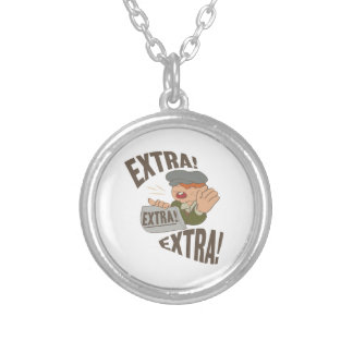 Extra Extra Round Pendant Necklace