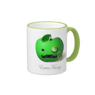 Monocle and mustache coffee travel mugs zazzle - Fancy travel coffee mugs ...