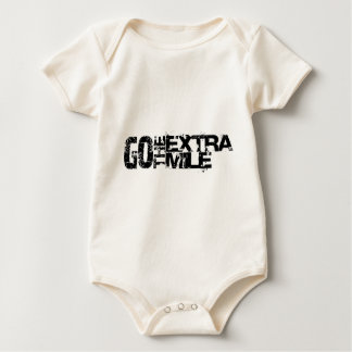 Extra Go the mile - it goes beyond Baby Bodysuit
