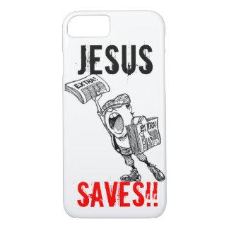 Extra, ! Jesus Saves!! iPhone 7 Case