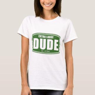 Extra Large Dude Established at Birth T-Shirt