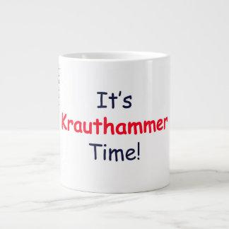 EXTRA LARGE KRAUTHAMMER TIME MUG