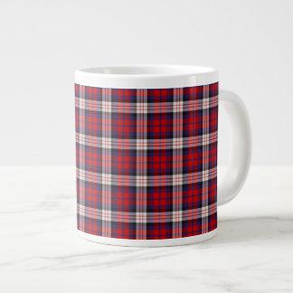 Extra Large MacDonald Tartan Tea/Coffee Mug