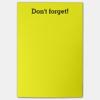 Extra Large Yellow notes   Custom office supplies Post-it® Notes