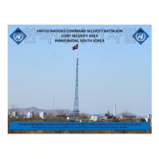 Extra Largee Flagpole Postcard